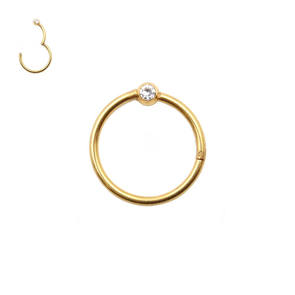 Ball Closure Ring with with Crystal