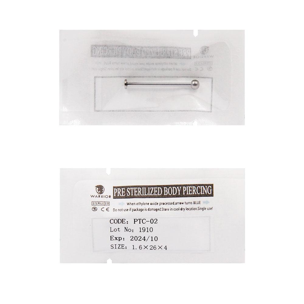 Sterile Titanium Labret