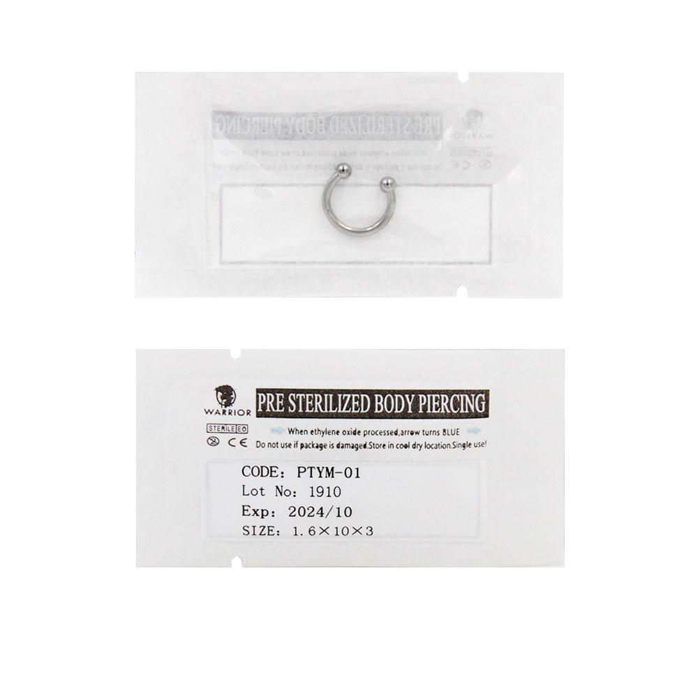 Sterile Titanium Horseshoe Septum